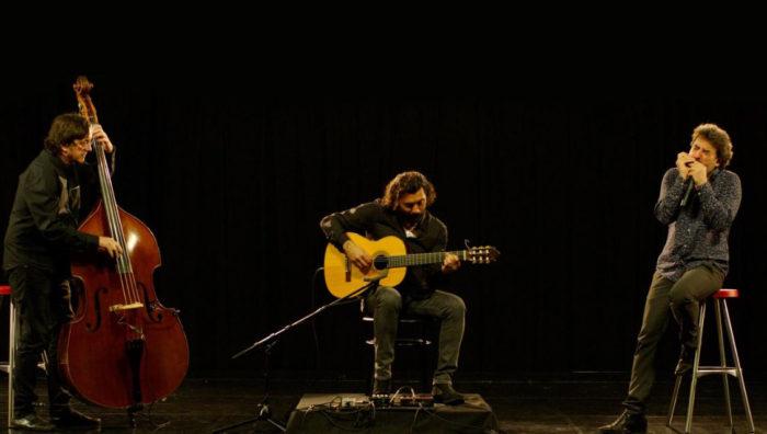 ANTONIO SERRANO, JOSEMI CARMONA Y JAVIER COLINA